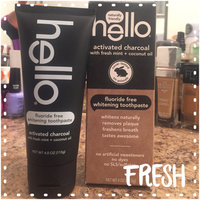 Hello Toothpaste Charcoal Whitening 4 oz uploaded by Kristy G.