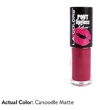 Photo of L.A. Colors Pout Matte Lipgloss uploaded by Yana S.