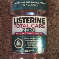 LISTERINE® TOTAL CARE ZERO FRESH MINT Anticavity Mouthwash uploaded by George Ann S.