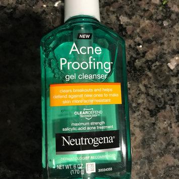 Photo of Neutrogena® New Acne Proofing™ Gel Cleanser uploaded by Lauren O.