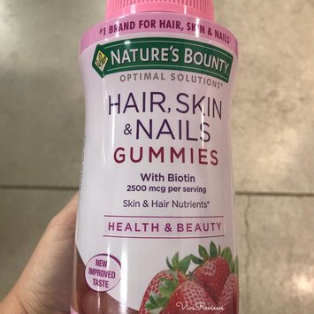 Photo of Nature's Bounty® Optimal Solutions® Hair, Skin & Nails Gummies uploaded by Vivian E.
