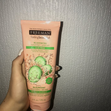 Photo of Freeman Feeling Beautiful Rejuvenating Clay Mask, Cucumber + Pink Salt 6 oz uploaded by Megan D.