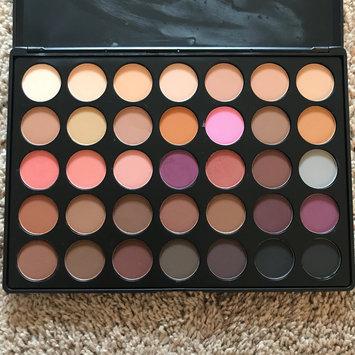 Photo of Morphe 35N - 35 Color Matte Eyeshadow Palette uploaded by Kayla D.