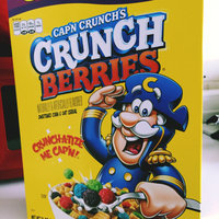 Cap'n Crunch's Crunch Berries Cereal uploaded by Kierra D.