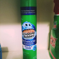 Scrubbing Bubbles Fresh Clean Scent Antibacterial Bathroom Cleaner uploaded by Kierra D.