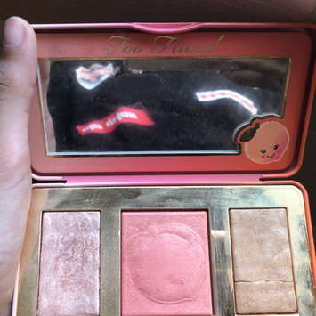 Photo of Too Faced Sweet Peach Glow Infused Highlighting Palette uploaded by Rose G.