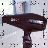 Babyliss 2000 Watt Nano Titanium Portofino Hair Dryer with ITALIAN AC Motor, 6 Heat/Speed Settings with True Cold Shot Button, BONUS FREE Diffuser and Three Concentrator Attachments uploaded by Stephanie G.