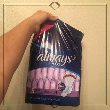 Photo of Always Maxi Size 5 Extra Heavy Overnight Pads with Wings Unscented uploaded by Christina K.