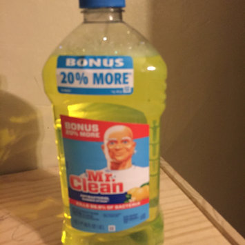 Photo of Mr. Clean Summer Citrus Scent Antibacterial Multi-Purpose Cleaner 40 uploaded by Leela O.