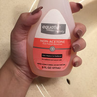 Equate Non-Acetone Nail Polish Remover uploaded by Brianna G.