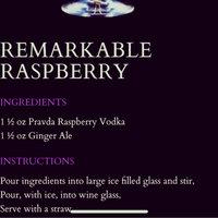 Pravda Vodka Raspberry  uploaded by mk ❥.