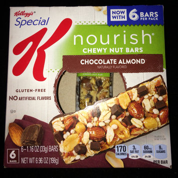 Photo of Special K® Kellogg's Chocolate Almond Chewy Nut Bars 5 ct Box uploaded by Krystal B.