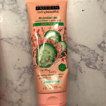 Photo of Freeman Feeling Beautiful Rejuvenating Clay Mask, Cucumber + Pink Salt 6 oz uploaded by Hannah💄 1.