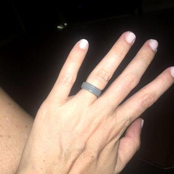 Photo uploaded to QALO Men's Silicone Wedding Ring - Black, Grey, Navy Blue, Maroon, Avocado Green (From QALO Silicone Wedding Band