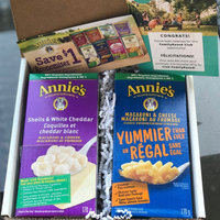 Annie's®  Homegrown Shells & White Cheddar Macaroni & Cheese uploaded by Courtney W.