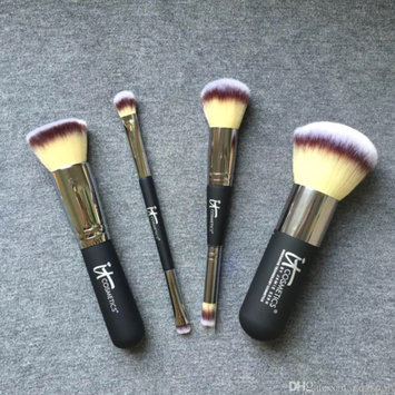 Photo of IT Cosmetics® Heavenly Luxe™ Flat Top Buffing Foundation Brush #6 uploaded by Jαyda L.