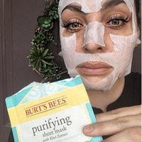 Burt's Bees Purifying Sheet Mask uploaded by Ella P.