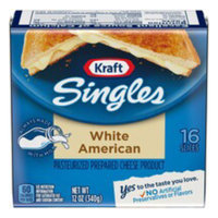Kraft Singles White American Cheese Slices 16 ct uploaded by Gil A.
