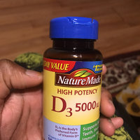 Pharmavite Llc Nature Made Vitamin D3 Dietary Supplement Softgels, 5000 I.U, 100 count uploaded by Kadiatou C.