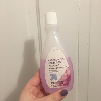 Photo of Up & up Strengthening Nail Polish Remover uploaded by Kassidy K.