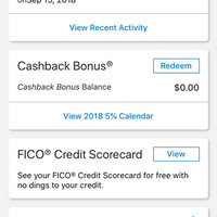 Discover it Cashback Match Credit Card uploaded by Allie H.