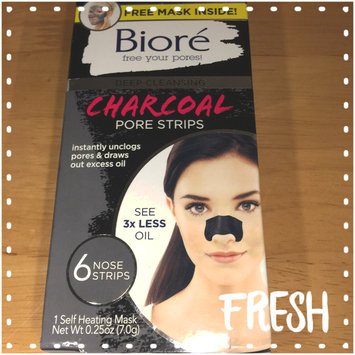 Photo of Bioré Deep Cleansing Charcoal Pore Strips uploaded by Jessica P.