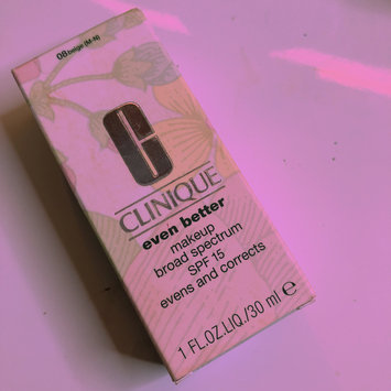 Photo of Clinique Even Better™ Makeup Broad Spectrum SPF 15 uploaded by Milli D.