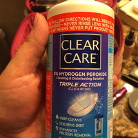 Clear Care Triple Action Cleaning 3% Hydrogen Peroxide Cleaning & Disinfecting Solution uploaded by Katherine S.