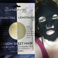 the CRÈME shop Charcoal & Lemon Fusion Sheet Mask uploaded by Nicole T.