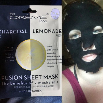 Photo of the CRÈME shop Charcoal & Lemon Fusion Sheet Mask uploaded by Nicole T.