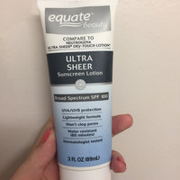 Equate Beauty Ultra Sheer Sunscreen Lotion, SPF 100 uploaded by Nicole Z.