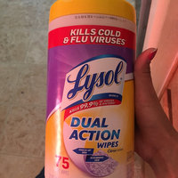 Lysol Dual Action Disinfecting Wipes uploaded by Yajaira E.