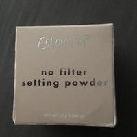 ColourPop No Filter Loose Setting Powder Banana uploaded by Lena R.
