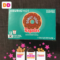 Green Mountain The Original Donut Shop Coffee Regular K-Cup Packs Medium Roast Extra Bold - 12 CT uploaded by Echo E.