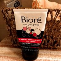 Bioré Warming Anti-Blackhead Cleanser uploaded by Hillary E.
