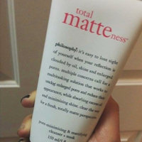 philosophy total matteness pore-minimizing & purifying cleanser + mask uploaded by Hales🌻 M.