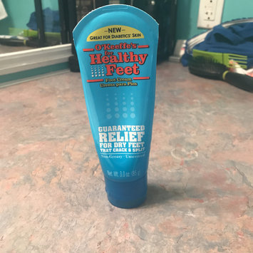 Photo of O'Keeffe's for Healthy Feet Foot Cream, 3.0 oz uploaded by April S.