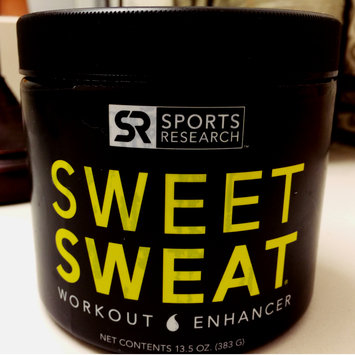Photo of Sweet Sweat Jar, Workout Enhancer Cream, 6.5 oz, Sports Research Corporation uploaded by Kristine M.