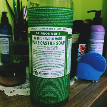 Dr  Bronner's 18-in-1 Hemp Almond Pure Castile Soap