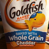 Goldfish® Cheddar Baked Snack Crackers Made With Whole Grain uploaded by Hannah C.