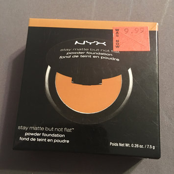 Photo of NYX Stay Matte But Not Flat Powder Foundation uploaded by Lena R.