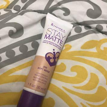 Photo of Rimmel London Stay Matte Liquid Mousse Foundation uploaded by Katelyn J.