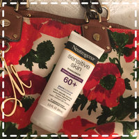 Neutrogena® Sensitive Skin Sunscreen Lotion Broad Spectrum SPF 60+ uploaded by Shari C.