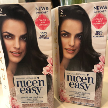 Photo of Clairol Nice'n Easy Permanent Hair Color uploaded by Gizzelle L.