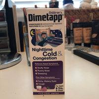 Dimetapp Children's Nighttime Cold & Congestion Liquid Grape uploaded by Chaya K.