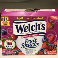 Welch's® Fruit Snacks Berries 'n Cherries uploaded by Brandy G.