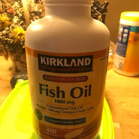Kirkland Signature Natural Fish Oil Concentrate with Omega-3 Fatty Acids, 400 Softgels, 1000mg uploaded by Make-up t.