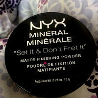 NYX Mineral Finishing Powder uploaded by Nancy P.