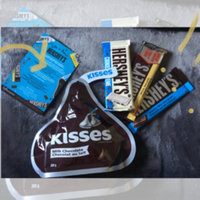 Hershey's Kisses Milk Chocolate Silver Foil uploaded by Nicole M.