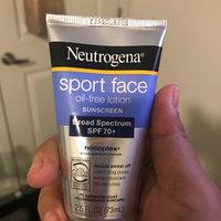 Neutrogena® Sport Face Oil-Free Lotion Sunscreen Broad Spectrum SPF 70+ uploaded by Kathya F.
